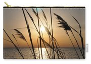 Sunset Through The Dune Grass Carry-all Pouch
