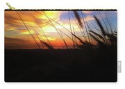 Sunset Through The Sea Grass Carry-all Pouch