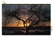 Sunset Through The Tree Carry-all Pouch