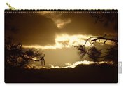 Sunset Thru The Pines Carry-all Pouch
