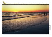 Sunset Time On Sunset Beach Carry-all Pouch