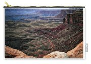Sunset Tour Valley Of The Gods Utah Text 04 Carry-all Pouch