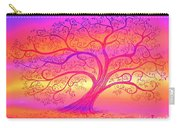 Sunset Tree Cats Carry-all Pouch