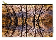 Sunset Tree Silhouette Abstract 1 Carry-all Pouch