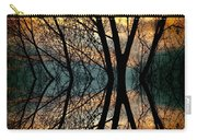 Sunset Tree Silhouette Abstract 3 Carry-all Pouch