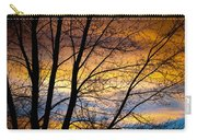 Sunset Tree Silhouette Carry-all Pouch