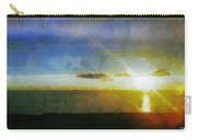 Sunset Under The Clouds Carry-all Pouch