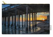 Sunset Under The Ventura Pier Carry-all Pouch