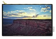 Sunset Valley Of The Gods Utah 03 Text Black Carry-all Pouch