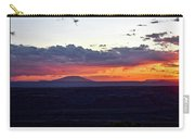 Sunset Valley Of The Gods Utah 05 Text Carry-all Pouch
