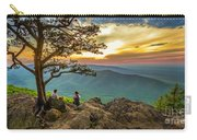 Sunset View At Ravens Roost Panorama Carry-all Pouch