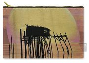 Sunset Wall Mural In Cedar Key, Fl Carry-all Pouch