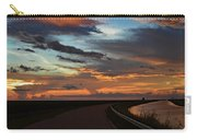 Florida Sunset Winding Road Carry-all Pouch
