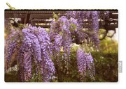 Sunset Wisteria Carry-all Pouch