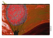 Sunset With Red Hot Air Balloon. Carry-all Pouch
