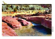 Sunset Zion National Park Carry-all Pouch