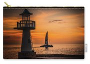 Sunsets And Sailboats Carry-all Pouch
