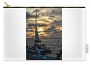 Sunsets And Sails Carry-all Pouch