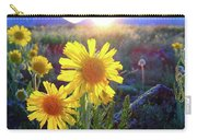 Sunsets And Sunflowers In Buena Vista Carry-all Pouch