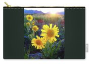 Sunsets And Sunflowers Of Buena Vista 2 Carry-all Pouch