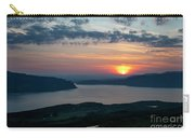 Sunsetting Over Portree, Isle Of Skye, Scotland. Carry-all Pouch