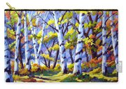Sunshine And Birches Carry-all Pouch