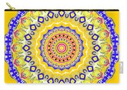Sunshine And Blue Skies Mandala Carry-all Pouch