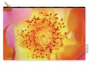 Sunshine - Hybrid Tea Rose - Macro Carry-all Pouch