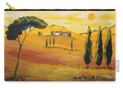 Sunshine In Tuscany In The Morning Carry-all Pouch