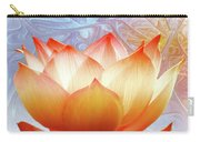 Sunshine Lotus Carry-all Pouch by Jacky Gerritsen