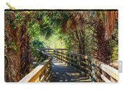 Sunshine On The Boardwalks Carry-all Pouch