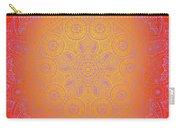 Sunshine Purple Mandala Carry-all Pouch