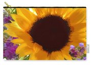 Sunshine Sunflower In The Garden Carry-all Pouch