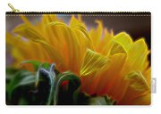 Sunshine Sunflower Petals Two Carry-all Pouch