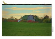 Sunsset On A Barn Carry-all Pouch