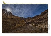 Sunstar Over Mosaic Canyon - Death Valley Carry-all Pouch