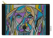 Super Hero - Contemporary Dog Art Carry-all Pouch
