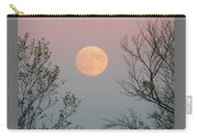 Super Moon At Twilight Carry-all Pouch