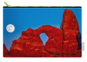 Super Moon Over Arches National Park Carry-all Pouch