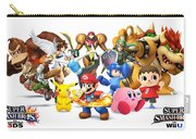 Super Smash Bros. For Nintendo 3ds And Wii U Carry-all Pouch