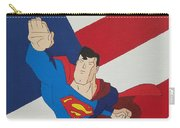 Superman And The Flag Carry-all Pouch