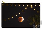 Supermoon And Twinkle Lights Carry-all Pouch