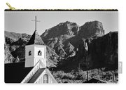 Superstition Mountain And Elvis Church Carry-all Pouch
