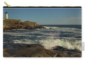 Surf At Nubble Light Carry-all Pouch