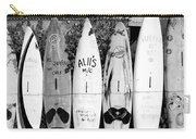 Surf Board Fence Maui Hawaii Square Format Carry-all Pouch
