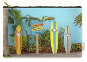Surf Boards At Ron Jon's Carry-all Pouch
