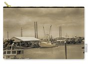 Surf City North Carolina Carry-all Pouch by Betsy Knapp