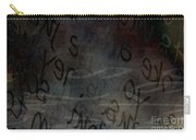 Surfacing Words Carry-all Pouch