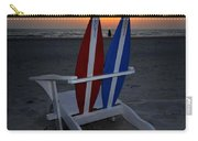 Surfboard Chair Sunset Carry-all Pouch