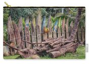 Surfboard Fence Hawaii Carry-all Pouch